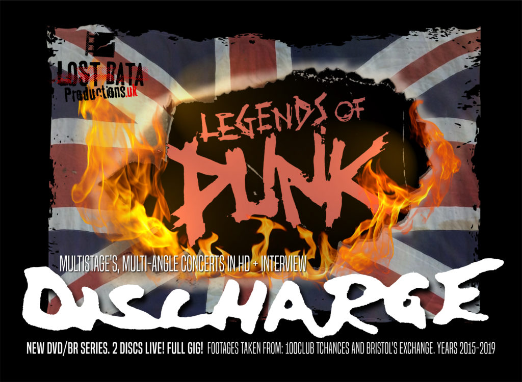 Discharge - new exclusive video - from Legends of Punk Vol.1