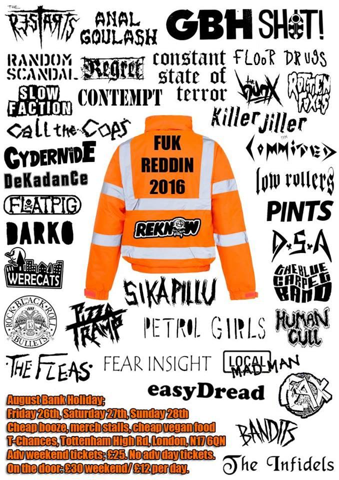 Fuk Redding 2018 poster