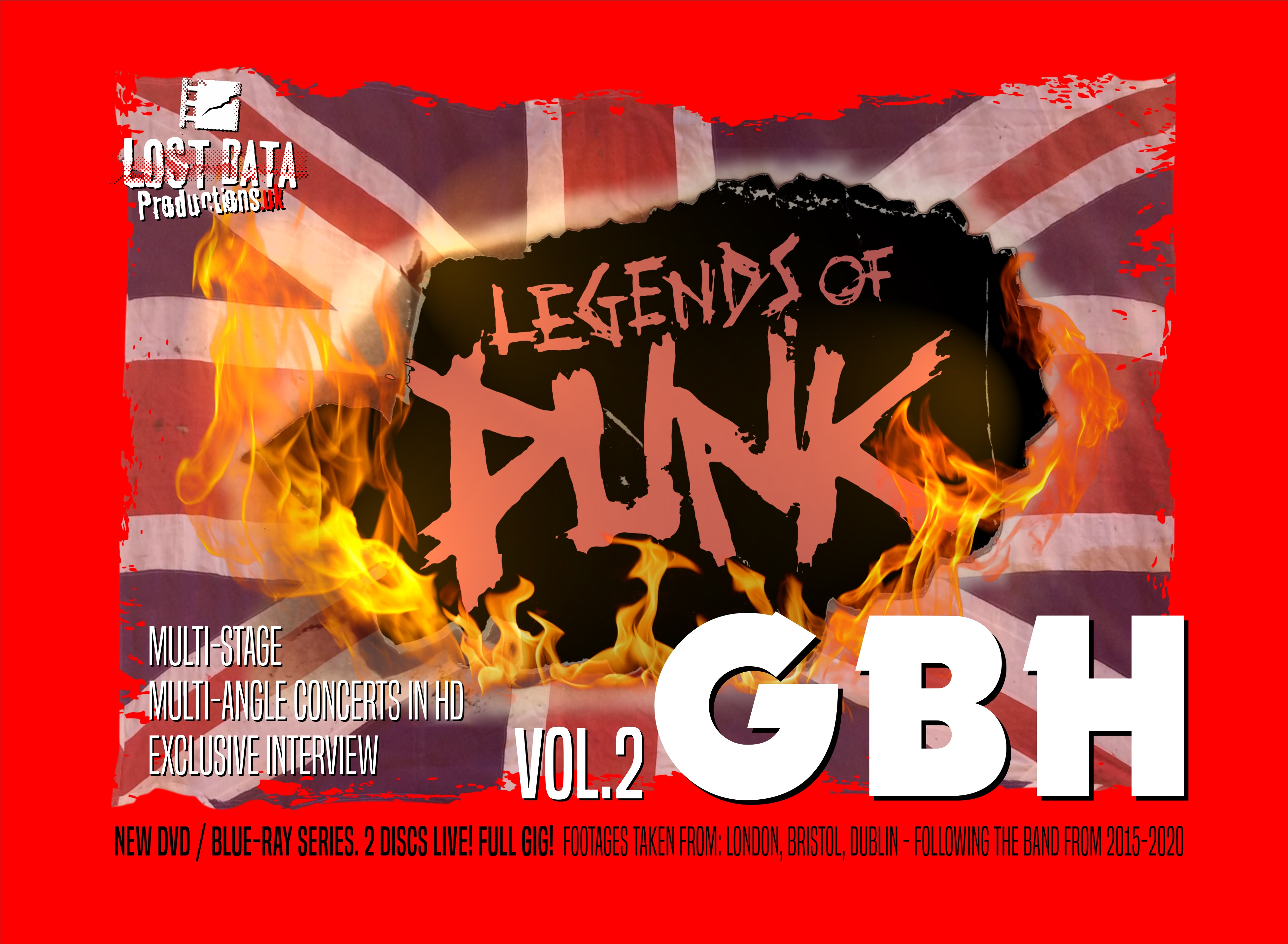 Legends of Punk Vol. 2 : G.B.H.