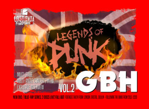 Pre-sales for G.B.H. Legends of Punk vol.2 - ends 15th September!