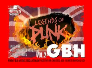 G.B.H. Legends of Punk vol.2 - now on general sale!