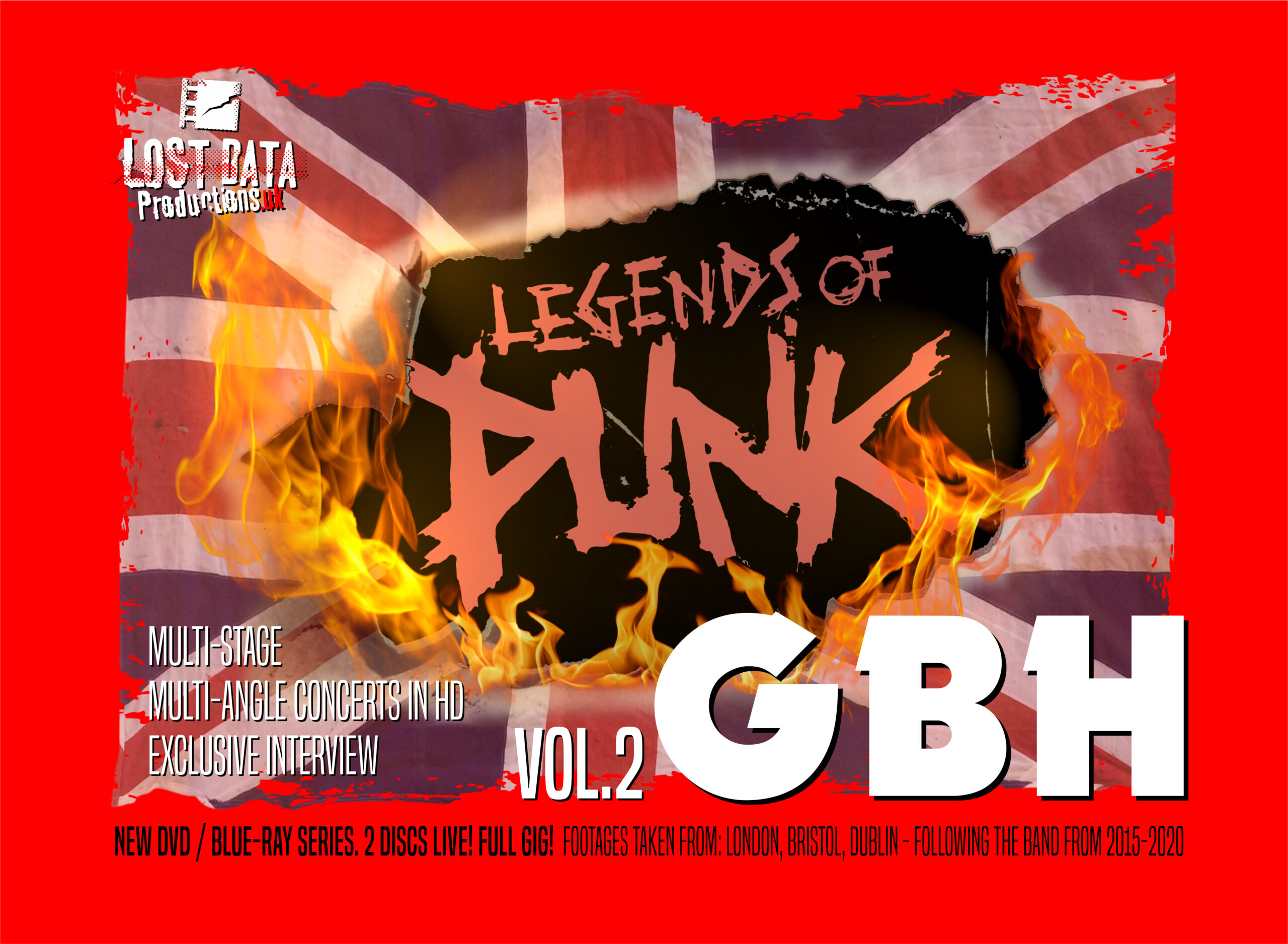 GBH Legends of Punk